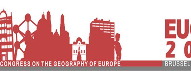 Congrès bisannuel de l'association des sociétés de géographie européennes EUGEO