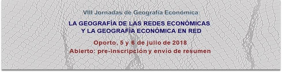 VIII Jornadas del Grupo de Geografia Económica