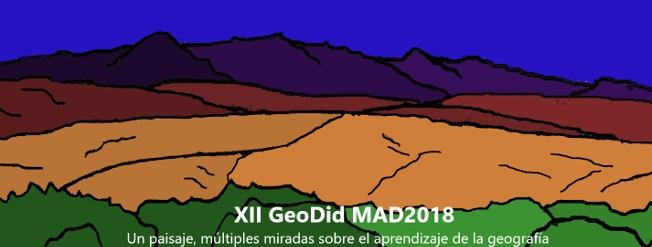 XII Congreso de Didáctica de la Geografía